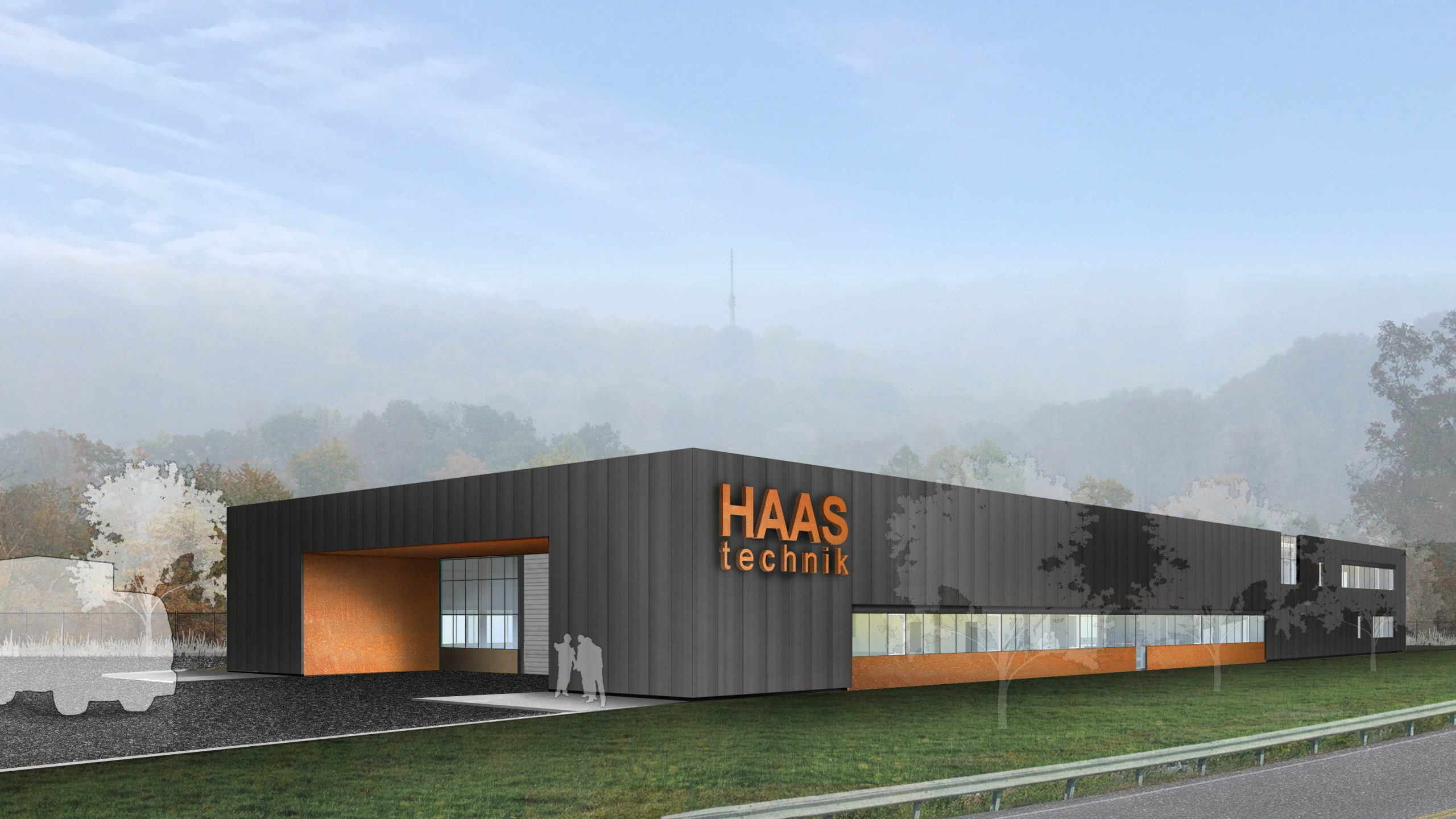 Haas_Perspective Ext - South-West 3