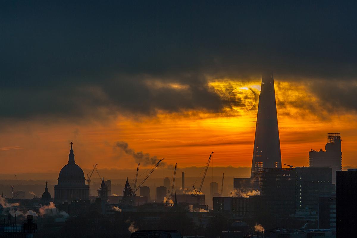 London rooftop