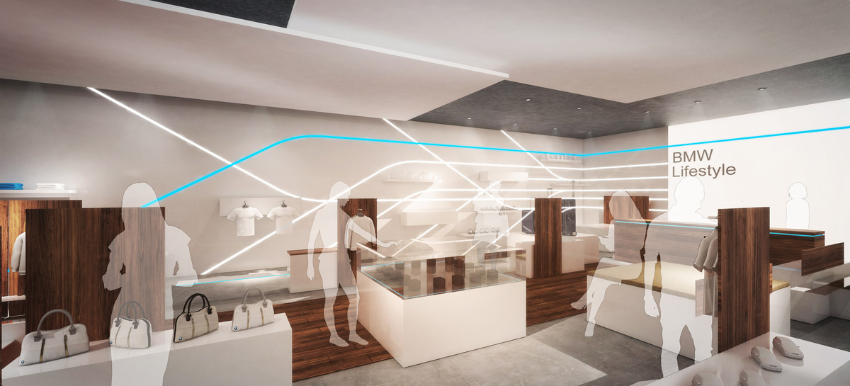 BMW Lifestyle, Global Retail Concept