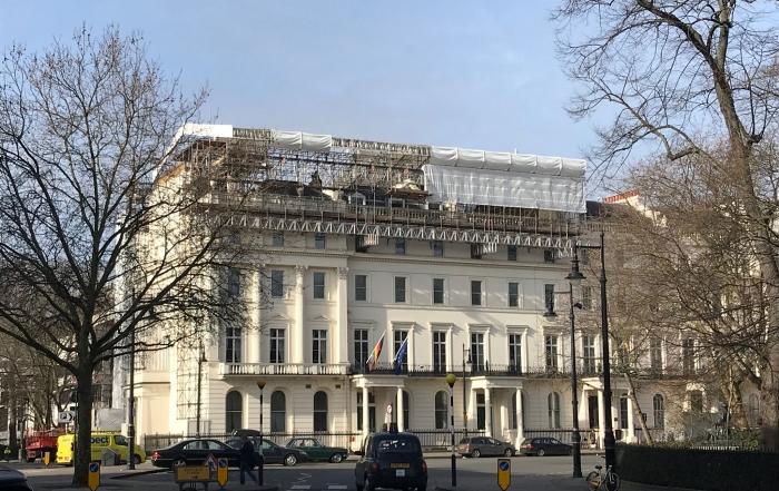 German Ambassador's Residence Facade