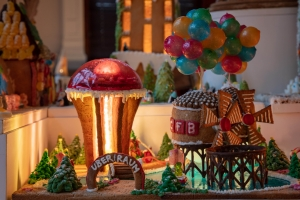 UberRaum Architects Gingerbread City - Photo credit - Luke Hayes