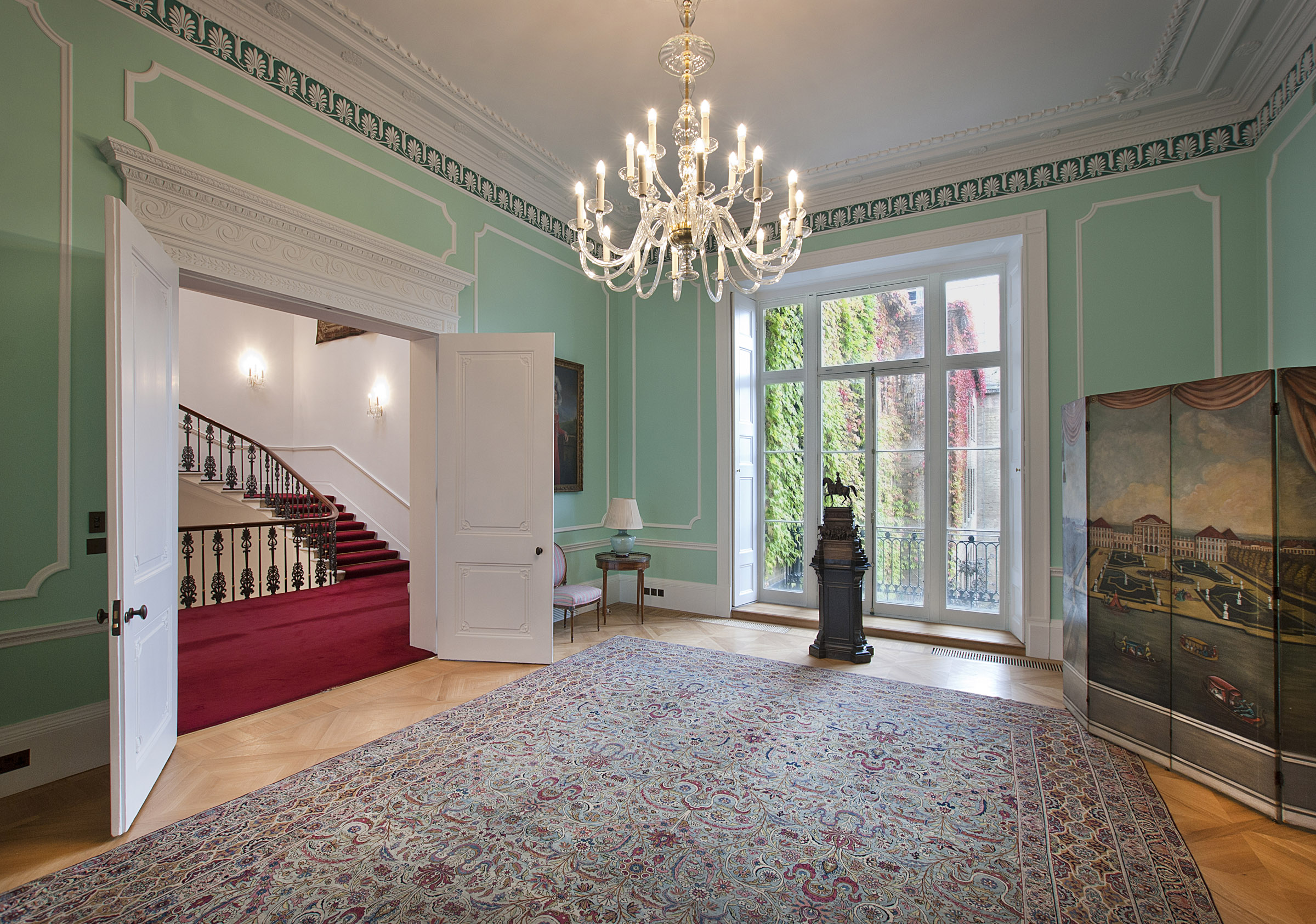 Green Room, German Embassy Residence, London